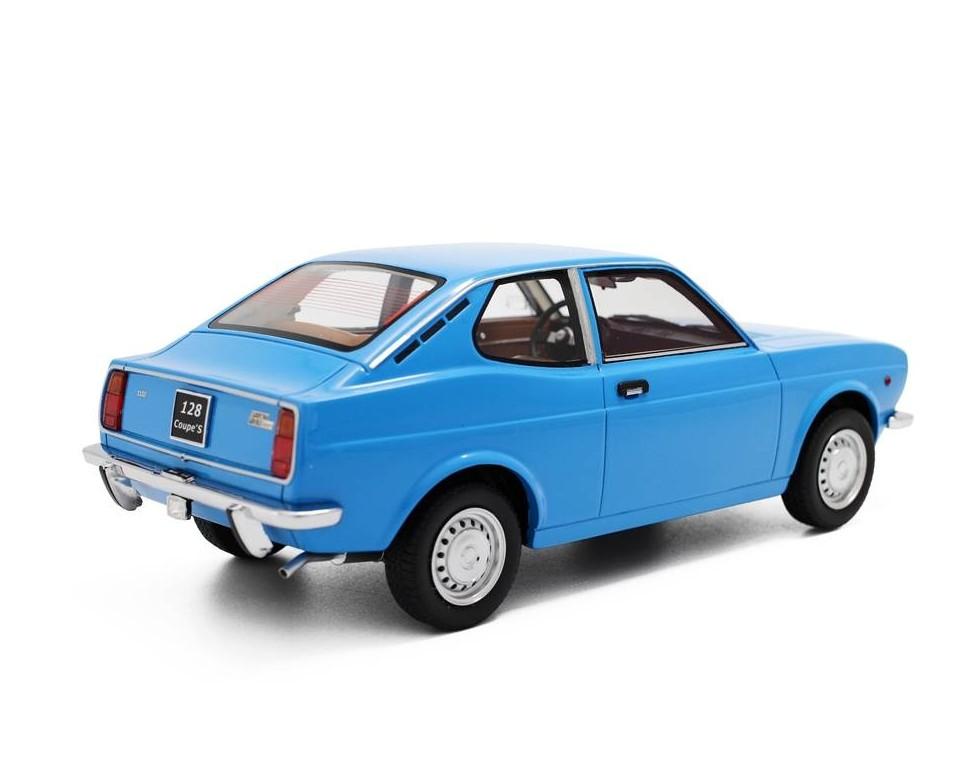 Fiat 128 1100 S 1972 blau Modellauto LM093 Laudoracing 1:18