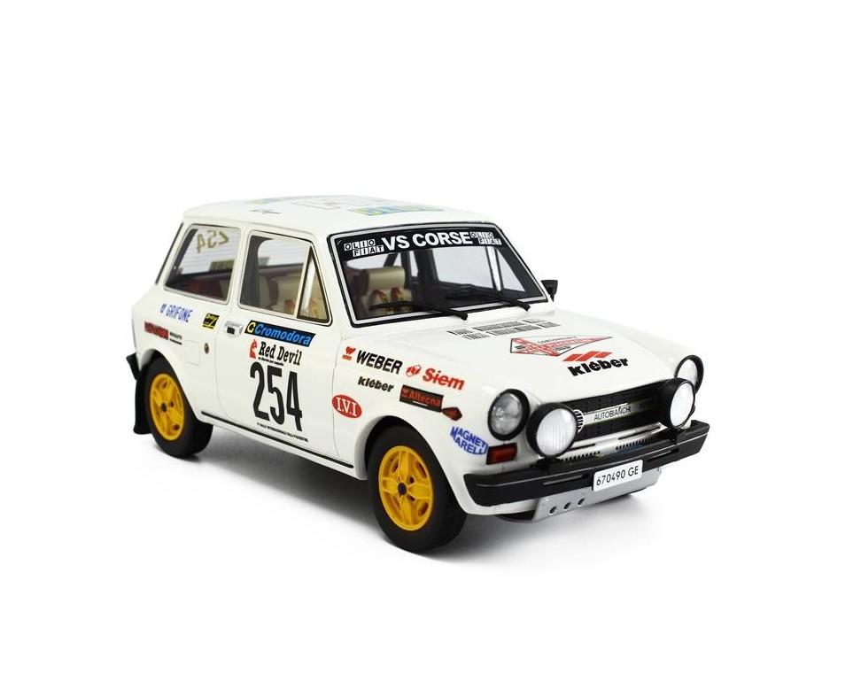 Autobianchi A112 Abarth Rally Automodell 1 18 Valli