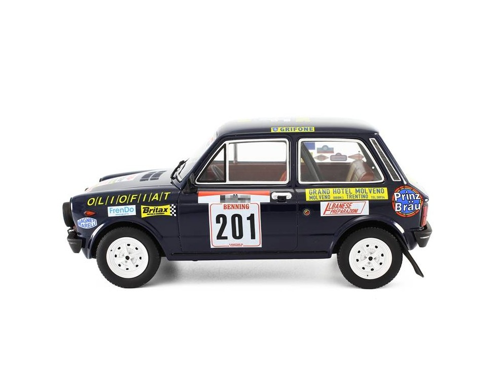 Autobianchi A112 Abarth mode car 1:18 Rally San Martino di Castrozza ...
