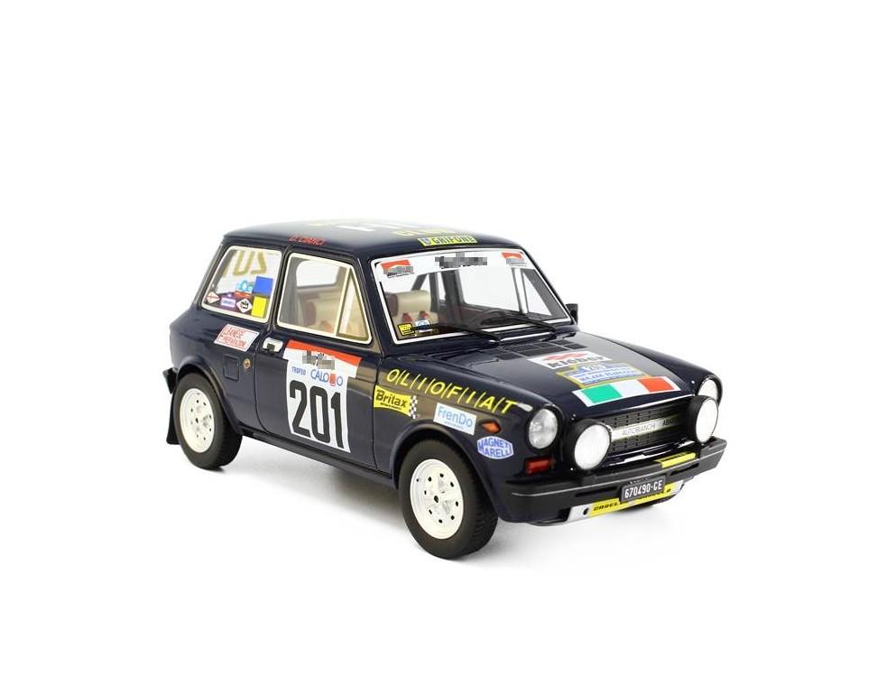 Autobianchi A112 Abarth Model car 1:18 Rally 100.000 Trabucchi 1977