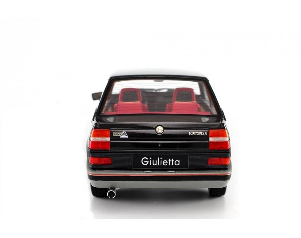 alfa romeo giulietta 2 0 turbodelta 1983 modellino 1 18 laudoracing. Black Bedroom Furniture Sets. Home Design Ideas
