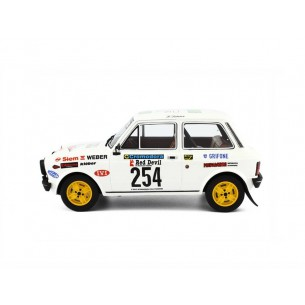 Autobianchi A112 Abarth Rally 1:18 Valli Piacentine 1978 LM091A