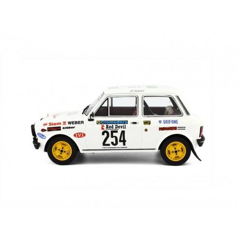 Autobianchi A112 Abarth Rally 1:18 Valli Piacentine 1978 LM091A