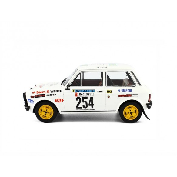 Autobianchi A112 Abarth Rally Valli Piacentine - 1978