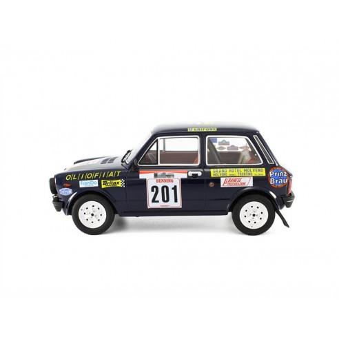 Autobianchi A112 Abarth 1:18 Rally San Martino di Castrozza 1977 LM091C