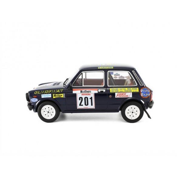 Autobianchi A112 Abarth Rally San Martino di Castrozza - 1977