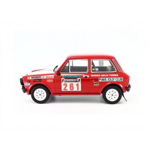 Autobianchi A112 Abarth 1:18 Rally Isola d'Elba 1978 LM091F
