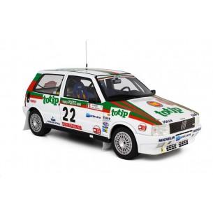 Fiat Uno Turbo i.e. Rally Portugal 1986 n°22 G.Del Zoppo-L.Roggia LM101