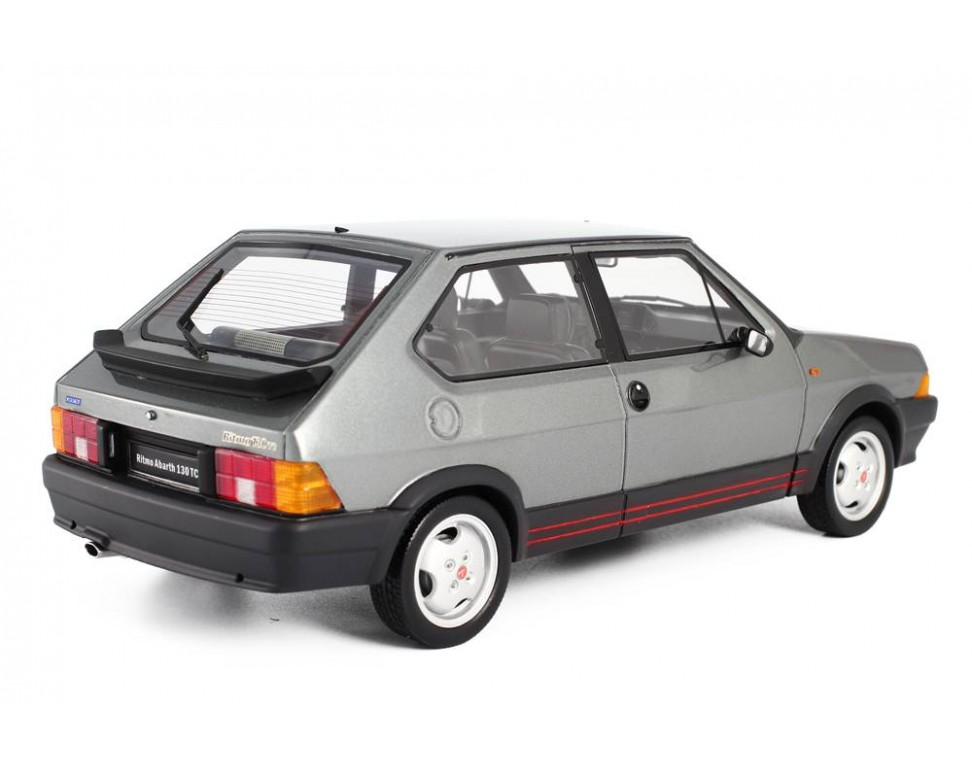 fiat ritmo abarth 130 tc 1983 model car 1:18 laudoracing