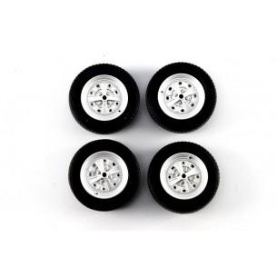 Set Wheels Autobianchi A112 1970  1/18 LM0004