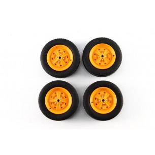 Set Wheels Autobianchi A112 1970  1/18 LM0005