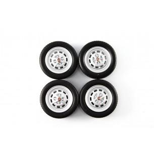 Set Wheels Autobianchi A112 1970  1/18 LM0006