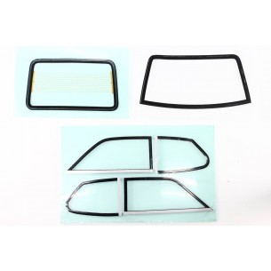 Set complet vitres Fiat 128 Coupé 1100S