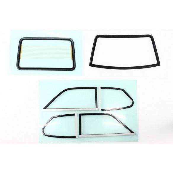 Set windows Fiat 128 Coupè 1100S