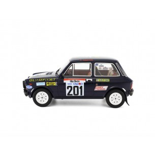 Autobianchi A112 Abarth 1:18 Rally 100.000 Trabucchi 1977 LM091D