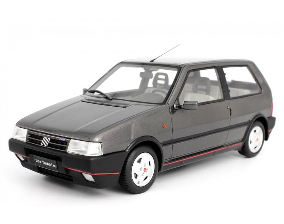 Fiat uno turbo 2 serie mk2 1990 model car 1 18 laudoracing