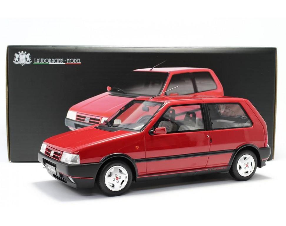 Fiat Uno Turbo 2 176 Serie Mk2 1990 Model Car 1 18 Laudoracing
