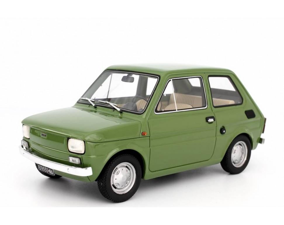 Fiat 126 Prima Serie 1972 Modellino 1 18 Laudoracing