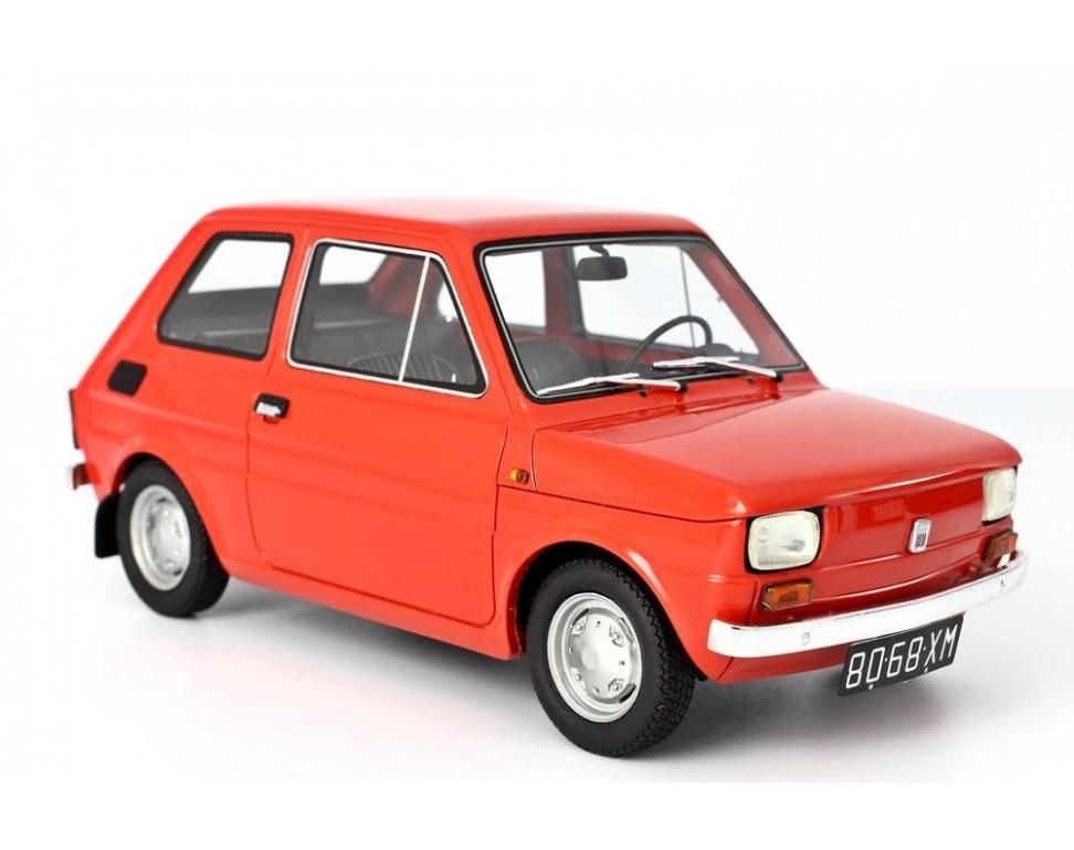 Fiat 126 Prima Serie 1972 Model car 1:18 Laudoracing