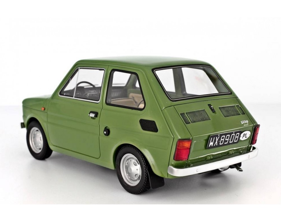 Car Seat Disposal >> Polski Fiat 126 Prima Serie 1972 Model car 1:18 Laudoracing