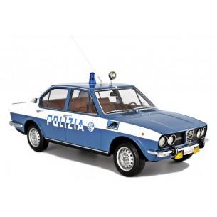 Alfa Romeo Alfetta 1.8 Polizia Squadra Volante 1976 1:18 LM098C