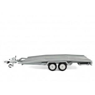Anhänger Transport Auto Modell Ellebi 1/18 Massstabe