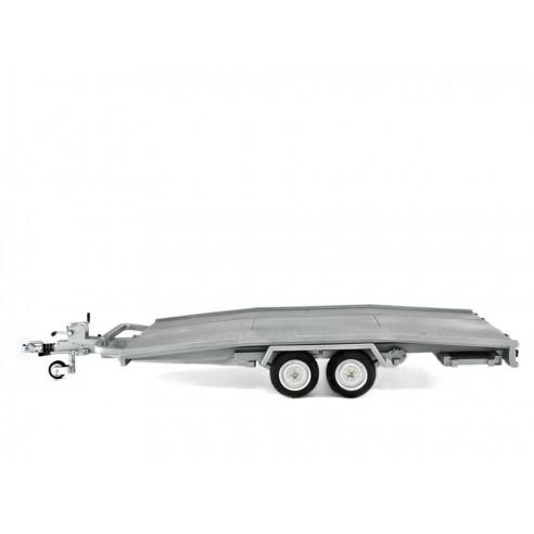 Remorque Transport voiture Modèle Ellebi échelle 1/18