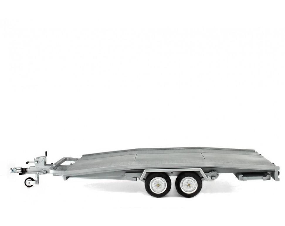 Trailer car transport Model Ellebi - scale 1:24