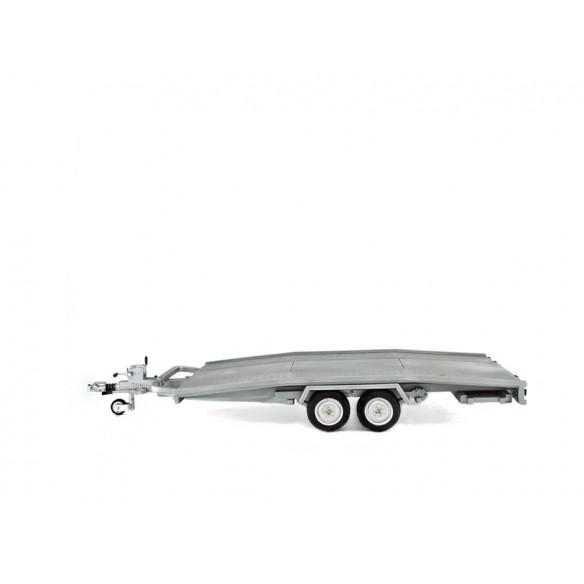 Remorque Ellebi - transport voiture 1/24