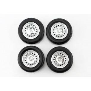 Set complet roues Fiat - 1972