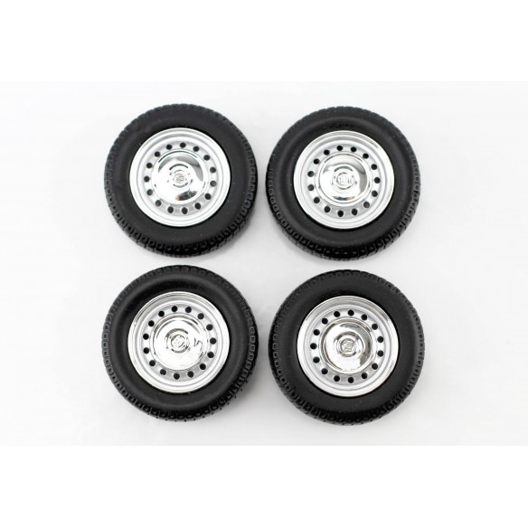 Set wheels Fiat - 1972