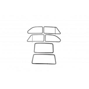 Complete set scheiben Fiat 850 Special