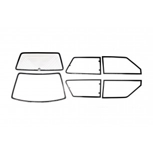 Set complet vitres Fiat Uno Turbo 2° Serie MK2