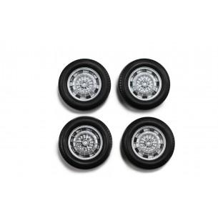 Complete set räder Abarth 9mm