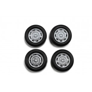 Set complet roues Abarth 9mm
