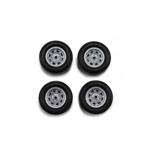 Set wheels Abarth 13mm