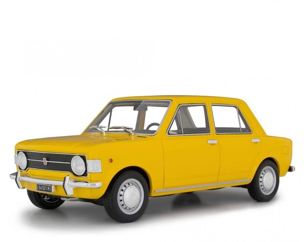 Fiat 128 1 Serie 1969 Model Car 118 Laudoracing