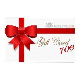 Geschenkkarte zum drucken - 70€