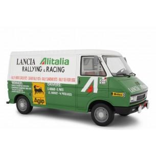 Fiat 242 1° serie Assistenza Lancia - 1974