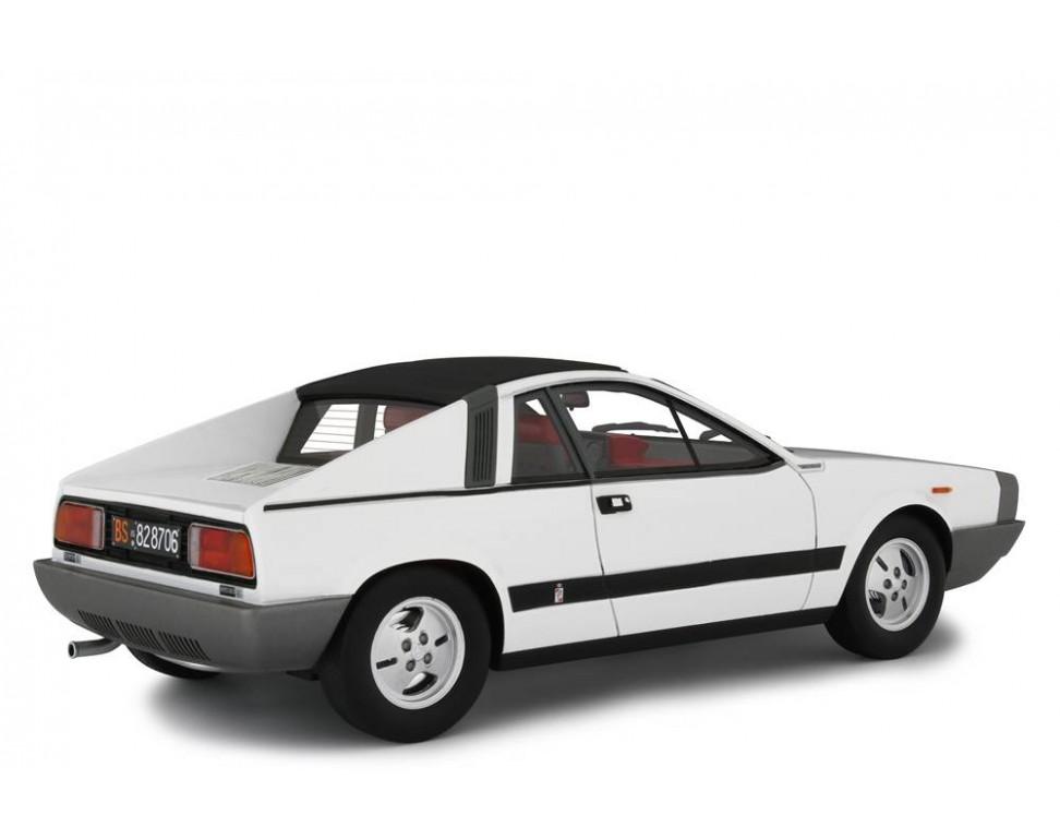 Laudoracing Lancia Beta Montecarlo 1/° S 1975 Silver 1:18 Modellino Auto Esclusivamente per Collezionisti