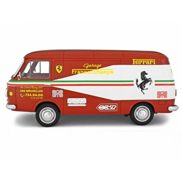 Fiat 238 Van Assistenza Ferrari Garage Francorchamps 1972