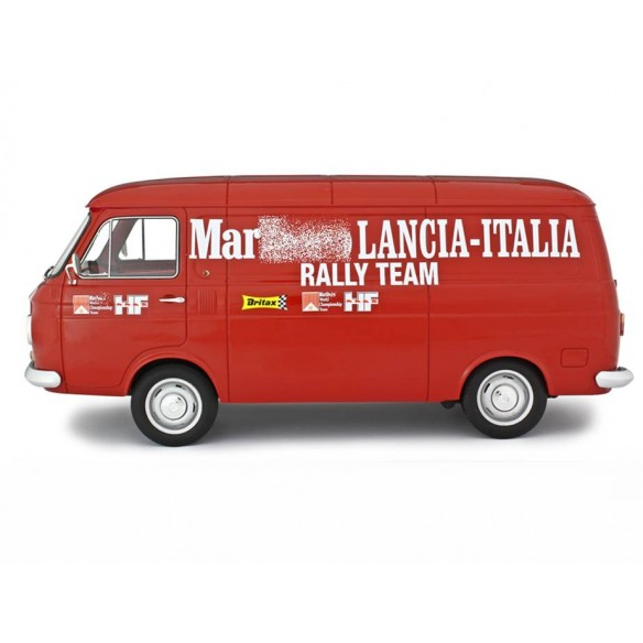 Fiat 238 Van Assistenza Corse Lancia Rally Team 1970