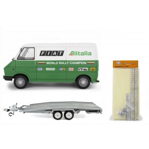 Set Trailer Ellebi - Kit luggage rack - Fiat 242 1° serie Assistenza Lancia - 1977