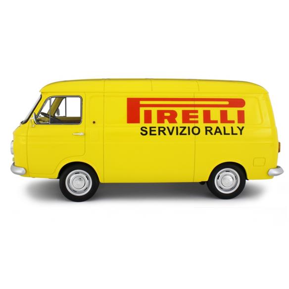 Fiat 238 Van Assistenza Clienti Rally Pirelli 1971