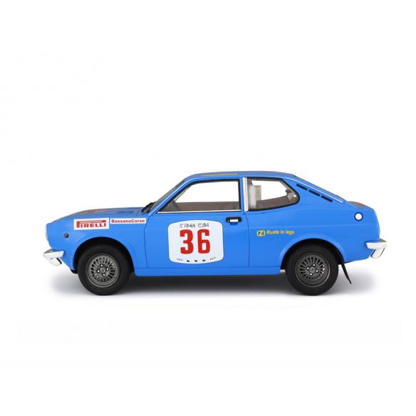 Fiat 128 Coupè 1300 SL Rallye Isola d'Elba 1972 Sonda - Monegato