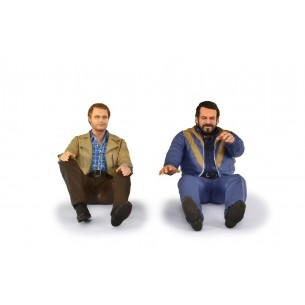 Figurines Bud Spencer & Terence Hill 1:18