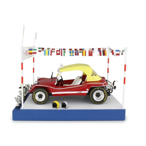 Kit Finish line / podium for Puma Dune Buggy 1:18 Laudoracing-Models