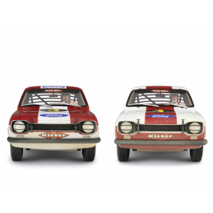 SET FORD ESCORT RALLY 1968 BUD SPENCER + TERENCE HILL 1:18