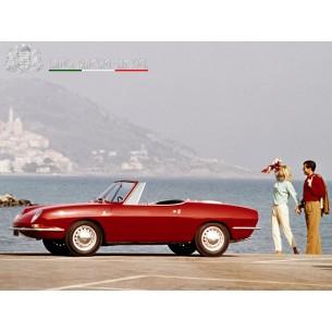 Fiat 850 Spider 1965  1:18